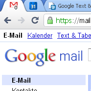 Googlemail – Unread-Count im FavIcon