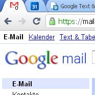 Googlemail – Unread-Count im FavIcon