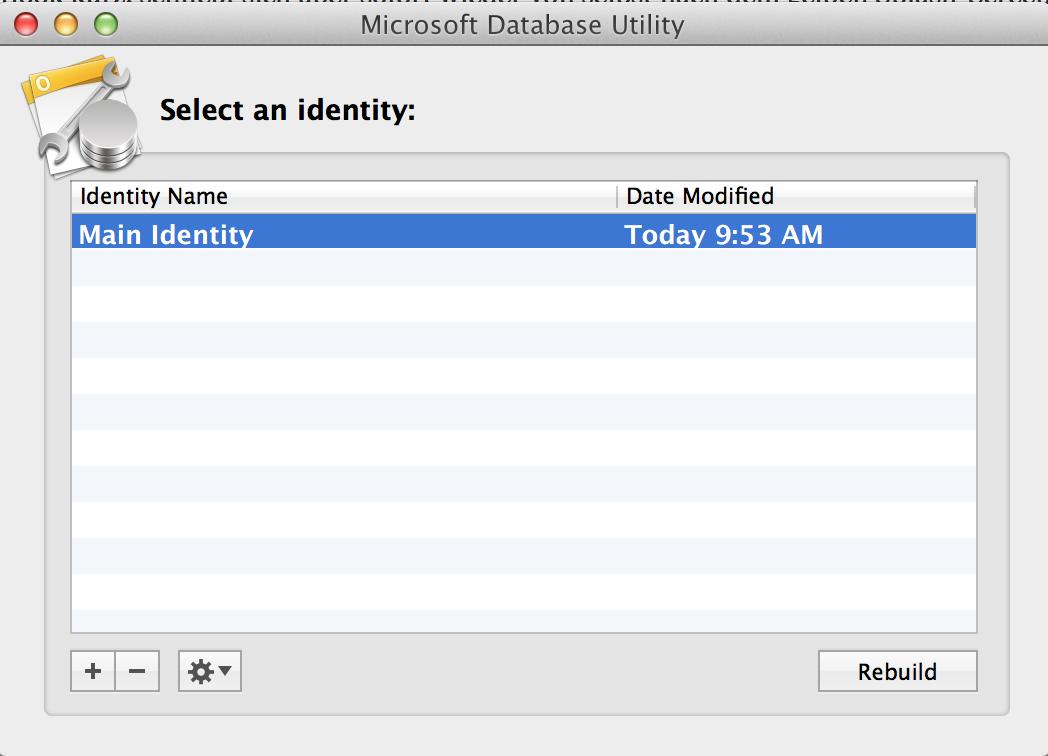 Database Utility